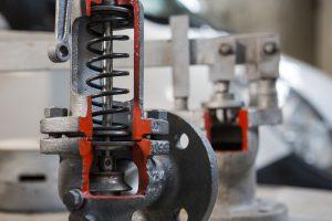 manutenzione e taratura valvole di controllo e sicurezza